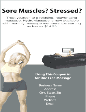 HYDROMASSAGE MARKETING PLAN AND RESOURCES 1