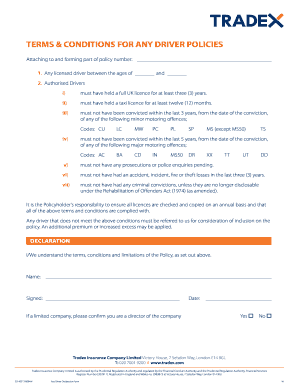 Fillable free terms and conditions template - Edit, Print ...