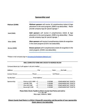 sponsorship letter for event sample
