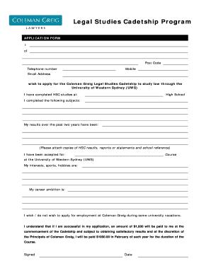 Fillable Online C G Schol Applicn Form Scholarship 10doc C G Schol