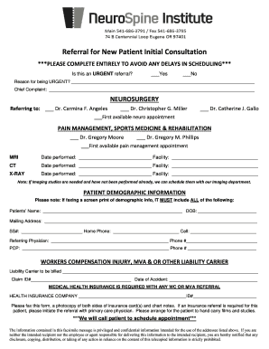 Editable new patient demographic form template - Fill Out, Print ...