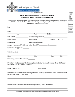 CYPP Application form - wdsfirstpres-charlotteorg - wds firstpres-charlotte