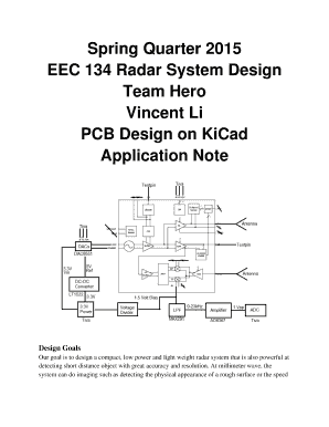 Fillable Online ucdart github Spring Quarter 2015 EEC 134 Radar