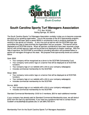 South Carolina Sports Turf Managers Association - The South ... - scstma