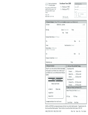 bcbsnc prescription claim form Templates - Fillable & Printable ...