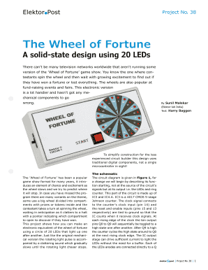 printable wheel of fortune make your own game - edit, fill out, Powerpoint templates