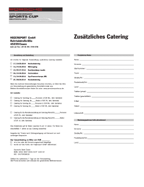 Fillable catering contract sample - Edit Online & Download Best ...