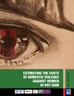 Estimating the costs of domestic violence against women in viet nam