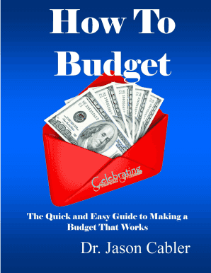 How To Budget - Celebrating Financial Freedom