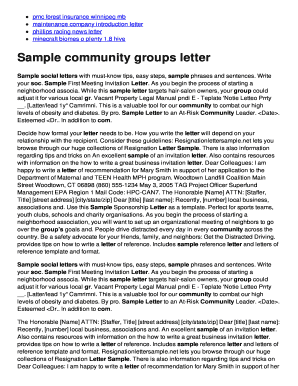 Company introduction letter forms and templates fillable sample community groups letter letters of appeal to insurance bb fandeluxe Images