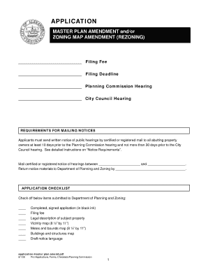 Master Plan Amendment and Zoning bb - City of Alexandria