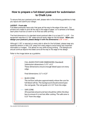 How to print with bleed pdf