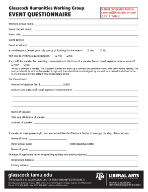 event survey template word - fillable event planner questionnaire template edit