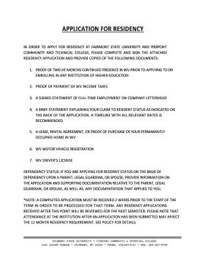 Editable dmv proof of residency wv - Fill, Print ...