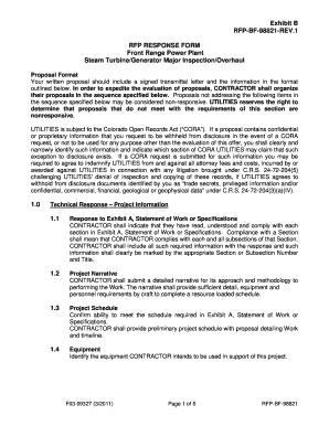 Sample Rfp Response Letter from www.pdffiller.com