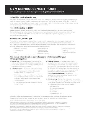 Mvp Healthcare Gym Reimbursement - Fill Online, Printable ...