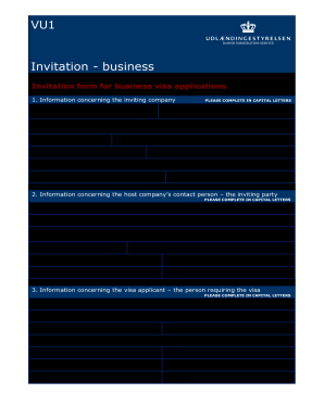 vu1 intervention business form