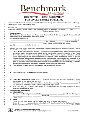 Bill Of Sale Form Tennessee Sublease Agreement Form Templates