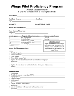 Fillable Online faasafety March 16, 2000. Short Form Return of ...