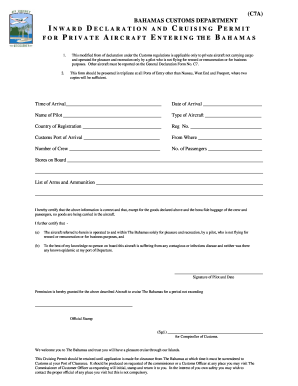 Bahamas C7a Form - Fill Online, Printable, Fillable, Blank | PDFfiller