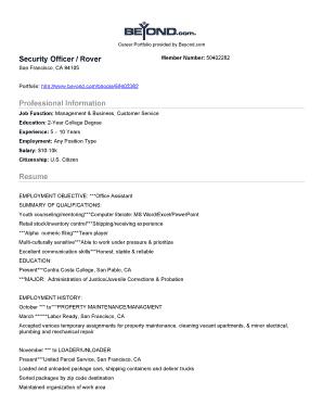 customer service resume objective or summary fill print