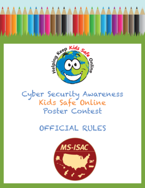 Image result for Kids Safe Online MS-ISAC® Poster Contest
