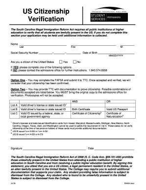 Fillable Online tridenttech US Citizenship Verification Form ...