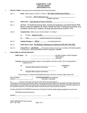 AGREEMENT C-902 Document 00530 ContractorTPA bb