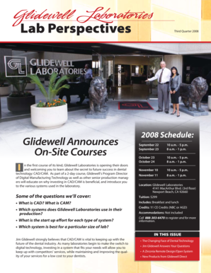 Fillable Online Lab Perspectives - Glidewell Dental Labs Fax