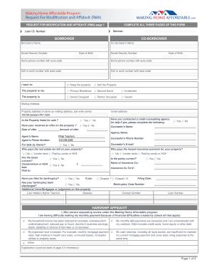 Fillable Hardship Affidavit Nationstar - Fill Online, Printable ...