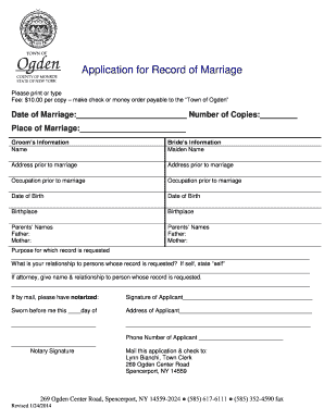 Marriage separation agreement template fill out online download marriage separation agreement template application for record of marriage ogden altavistaventures Choice Image