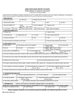 mileage reimbursement form for workers compensation Templates ...
