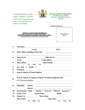 ainp skilled worker application forms