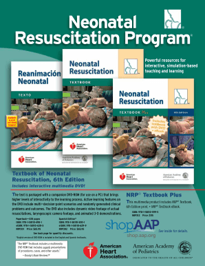 Fillable online www2 aap textbook of neonatal resuscitation 6th rate this form fandeluxe Image collections