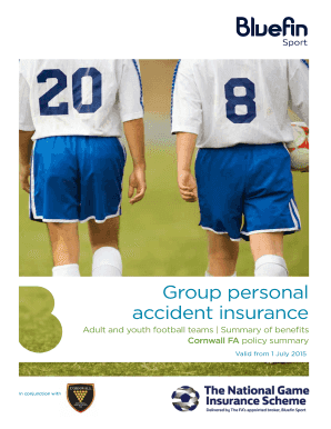 individual personal accident insurance pdf