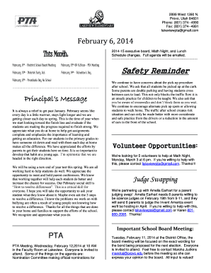 Newsletters on Pinterest Monthly Newsletter Template, Classroom ... - lakeview provo