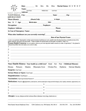 fillable online date mr mrs ms miss marital status m s w d p fax