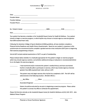 printable acsm health history questionnaire edit fill out