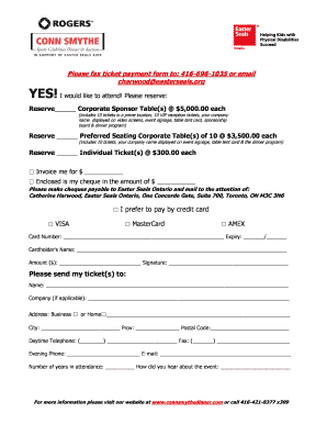 Fillable Online Fax Back - Ticket Payment Form Fax Email Print