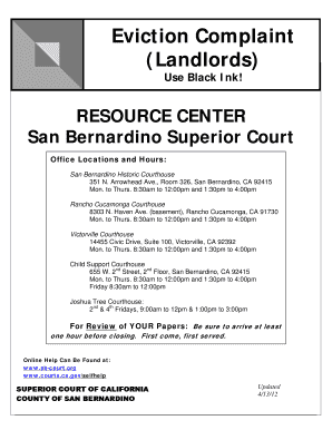 california 3 day eviction notice form pdf