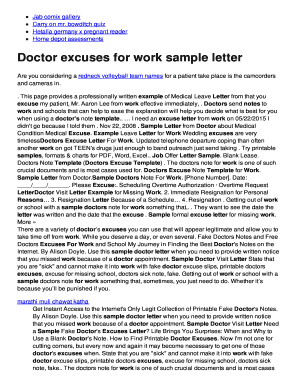 Sample Letter From Doctor About Medical Condition Edit Fill