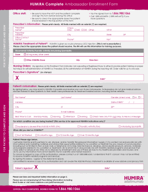 Get humira complete app android PDF Forms and Document Samples to