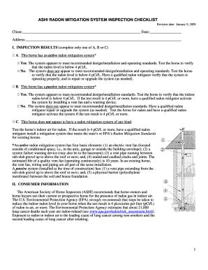 ashi inspection checklist fillable form samples to. Black Bedroom Furniture Sets. Home Design Ideas