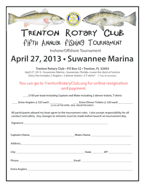 Fillable Online Trentonrotaryclub Flyer 13 Color