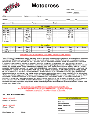 Rider Sign Up Sheet - bkitracksmxbbcomb