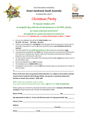 Summer event flyer - Down Syndrome Society of South Australia - downssa asn