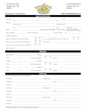 346261859 Vans Job Application Form Printable on work application form, vans store application form, vans off the wall application printable,