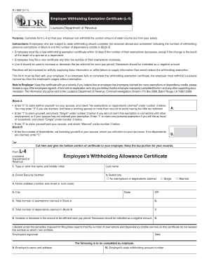 Fillable Online R1300 (4/11) Employee Withholding Exemption ...
