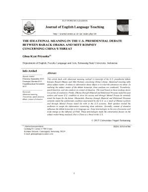 ELT FORUM 2 (2) (2013) Journal of English Language Teaching http://journal - journal unnes ac