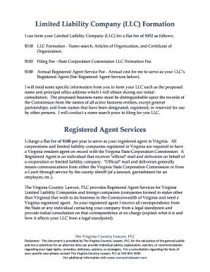 LLC Formation - Fill, Print & Download Online Samples & Templates ...